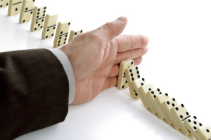 hand in dominoes